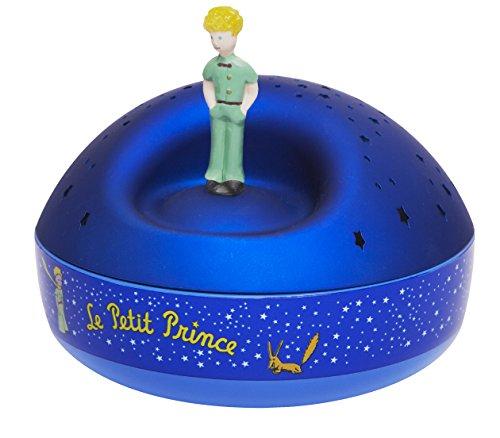 Trousselier-Luce notturna musicale con proiettore di stelle, motivo: Il piccolo principe, blu