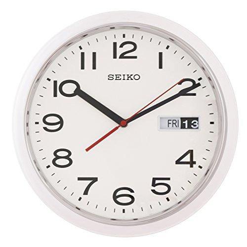 Seiko Day/ Date Wall Clock QXF102H