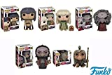Pop! Movies: The Dark Crystal - Jen, Kira and Fizzgig, Aughra, The Chamberlain Skeksis and UrSol Vinyl Figures! Set of 5 by Dark Crystal