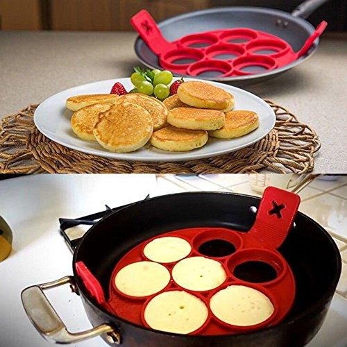 Stampi per Omelet/Pancake in silicone 100% alimentare, utensili da ...