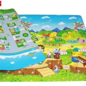 esterilla de juegos para niños - Dwinguler playmat - Animal orchestra - Medium - 1,9m * 1,3m * 15mm