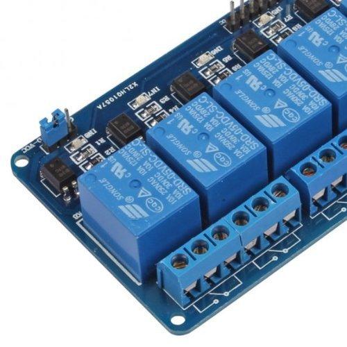 51YdkGZxJhL - kuman 5V 8 Canales Escudo Módulo de Relé para Arduino UNO-R3 1280 2560 ARM PIC AVR STM32 Raspberry Pi DSP K30