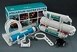 Planet-Aqua Umkehr Osmoseanlage und Wasserfilter mit 75 GPD / 270 L/24std für das Aquarium Haushalt/Küche und zum Camping Trinkwasser Umkehrosmose Ersatzfilter Membran Aktivkohlefilter