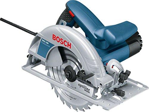 Bosch Professional GKS 190 - Sierra circular, 1400 W, disco 190 mm, en caja