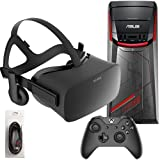 Oculus Rift 3 Items Bundle: Oculus Rift Virtual-Reality Headset & ASUS G11CD Desktop Package 8GB 1TB with Mytrix High Quality HDMI Cable(US Version, importiert)