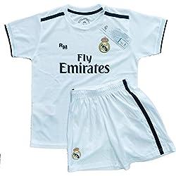 Kit - Personalizable - Primera Equipación Replica Original Real Madrid 2018/2019 (10 años)