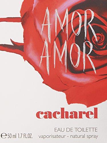 Amor Amor de Cacharel - Eau de Toilette - Vaporisateur 50mL 24