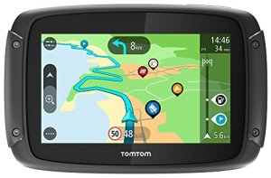 TomTom Rider 500 Motorrad-Navi (4,3 Zoll, mit kurvigen und bergigen Strecken Speziell für Motorräder, Updates über Wi-Fi, Kompatibel mit Siri und Google Now) 3