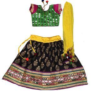 Aglare Girl's Cotton Lehenga Choli 10  Aglare Girl's Cotton Lehenga Choli 51Yw 2BOF6yNL