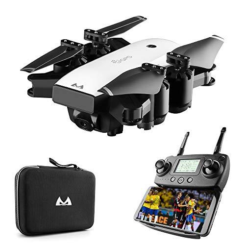 WANGKM Dual GPS Drone Positioning Return Aeromobili Professionali grandangolari Telecomando Aeromobili a Quattro Assi Velivolo Portatile Pieghevole Vr3d Mode
