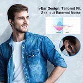 Arbily-Auriculares-Inalmbricos-Auriculares-Estreo-Bluetooth-50-en-la-Oreja-con-Caja-de-Carga-de-Cuero-Auriculares-Bluetooth-para-Negocios-Trabajo-Deporte-Mic-Fcil-de-Emparejar-Impermeable