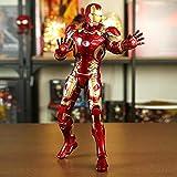 Iron Man Figurine Marvel Avengers, Statuette à 4 Personnages 30cm