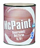 McPaint Wetterschutzfarbe – Holzfarbe für außen auf Acryl Basis mit langanhaltendem...