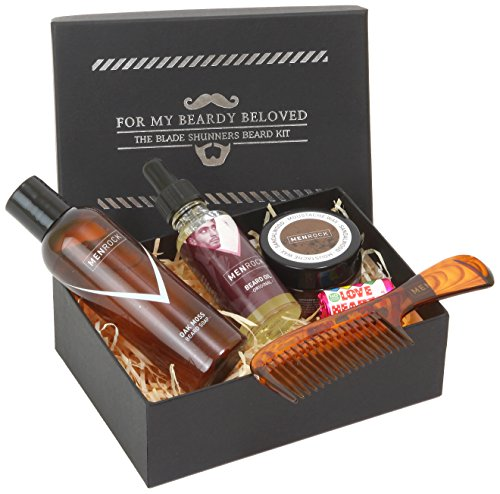Men Rock Complete Beard Care and Moustache Care Gift Set