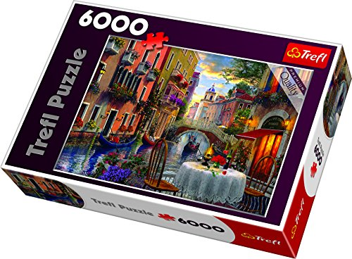 Trefl 65003 Puzzle 'Romantic supper' - Cena romantica, con 6000 pezzi