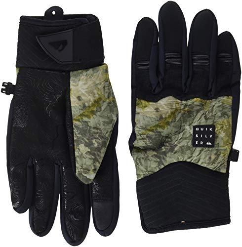 Quiksilver Method, Gloves Uomo, Grape Leaf/Tanenbaum, XL