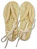 Samurai Sandalias Talla S (Waraji) Los pies del desgaste