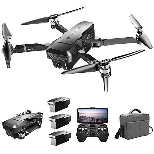 Goolsky Drone Senza Spazzola VISUO Zen K1 4K GPS con Doppia Fotocamera 120 ° grandangolo 5G WiFi...