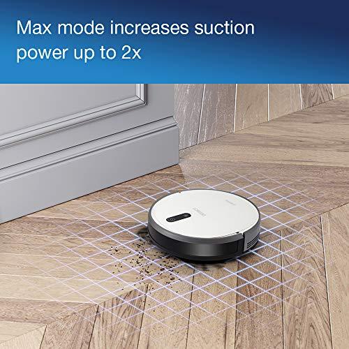 51ZF3fmdO5L [Bon Plan Ecovacs] ECOVACS DEEBOT 710 - Aspirateur robot avec technologie de cartographie - Pour sols durs et tapis - Aspirateur sans fil programmable via smartphone et compatible avec Amazon Alexa
