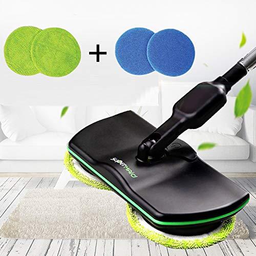 Mop Elettrico Elettrico Cordless, Mop per Pulizie domestiche Ricaricabile, Spazzola per Pulizie...