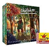 AZAWAK EDITIONS CHIFUKOO - La forêt enchantée : Utilise Les 4 opérations Addition soustraction Multiplication divisions Renforce Le calcul Mental sans s'en apercevoir en Jouant - Tous Niveaux