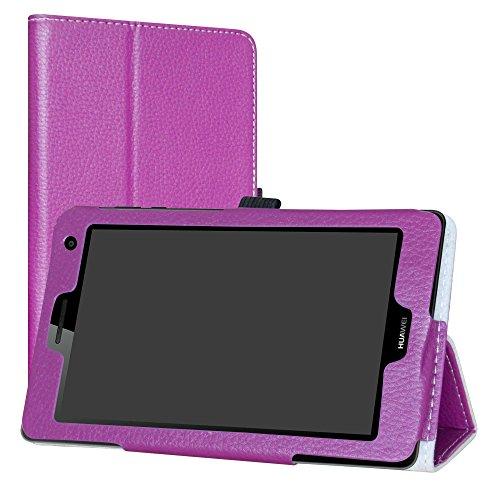 Labanema Huawei Mediapad T3 7 3G Custodia, PU Pelle Slim Flip Case Cover Protettiva Pieghevole Stand...