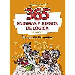 365 enigmas y juegos de lógica: Pon a prueba tus neuronas (Cajon Desastre)