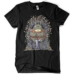 216-Camiseta Juego De Tronos - The UmbrellaThrone (M, Negro)