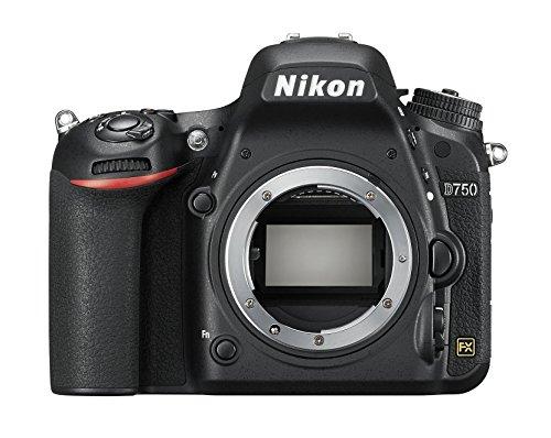Nikon D750 Appareil photo numérique Reflex 24.3 Mpix Boîtier nu Noir, anglais et japonais