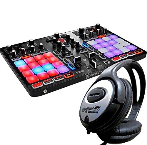 Hercules P32controlador DJ Performance Licuadora + Auriculares Keepdrum