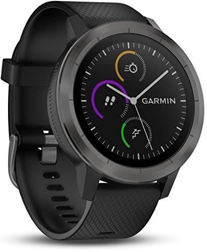 Garmin Vivoactive 3 Smartwatch GPS con Profili Sport, Sensore Cardio e Pagamento Contactless,...