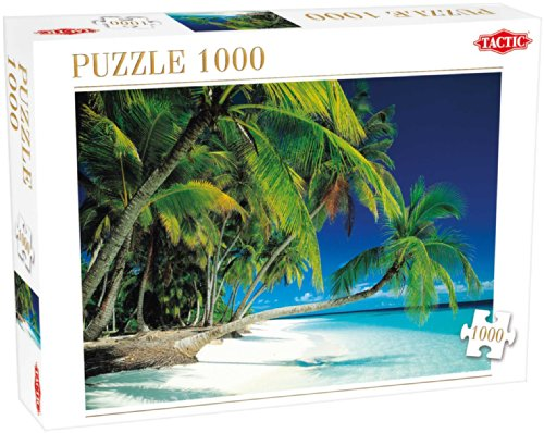 Beach Puzzle 1000-piece Detailed Design