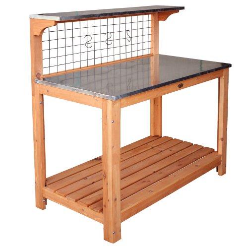 HABAU 695-FSC Tavolo da giardino con pianale zincato