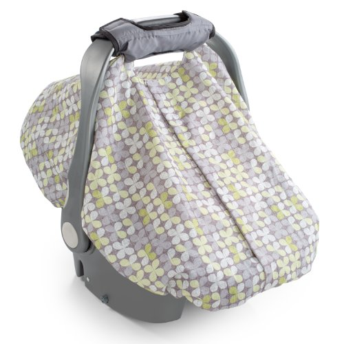 Summer Infant 2-in-1 Carry & Cover Infant Car Seat Cover, Clover