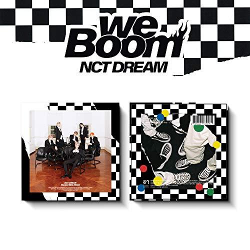 [KHNO Album] NCT Dream - WE Boom (3° mini album) kit KHNO + 2 foto pieghevoli + foto + poster...