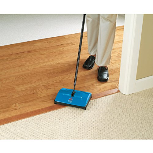 BISSELL 2402E Sturdy Sweep Floor Cleaner - Blue 6  BISSELL 2402E Sturdy Sweep Floor Cleaner – Blue 51aA8V7zkiL
