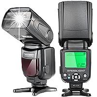 N.B. la fotocamera NON è inclusa!    Descrizione: L'i-TTL speedlite flash è adatto alle reflex digitali Nikon, come Nikon D7200 D7100 D7000 D5500 D5300 D5200 D5100 D3300 D3200 D3100 D500 D60 D50.    Specifica: Progettazione di circuiti: Insulated ...
