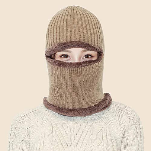Cappello Invernale Lavorato a Maglia per Snowboard o Sci,Cappello di Lana Lavorato a Maglia...