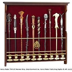 Noble Collection - Exhibidor 10 varitas, diseño Harry Potter (NN8010)
