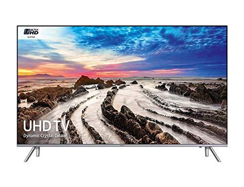 Samsung UE55MU7000TXZT Smart TV 4K Ultra HD 55' Wi-Fi DVB-T2 Serie MU7000 , Argento (2017)