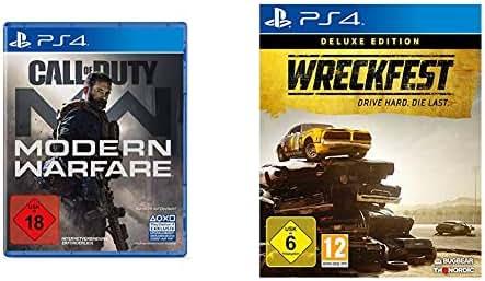 Call of Duty: Modern Warfare - [PlayStation 4] & Wreckfest Deluxe Edition [Playstation 4]