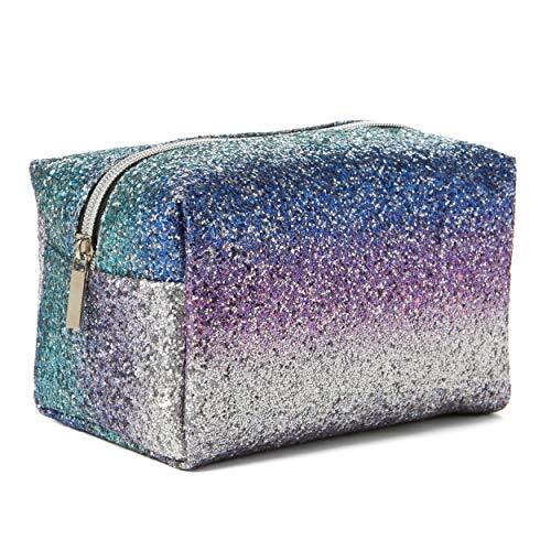 Tri-Coastal Design - Pochette Porta Trucchi Glitter - Perfetta per Contenere il Make-Up o da Usare...