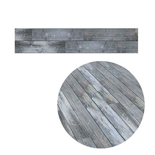LUFA 5M Carta autoadesiva di pavimento a grana del legno adesivi per carta da parati decorativa in...