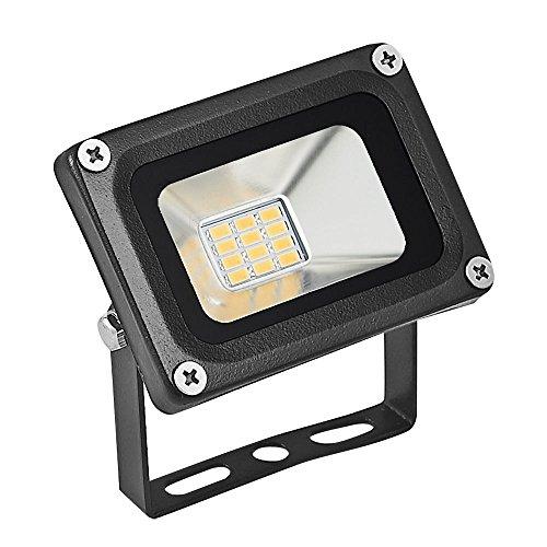 Faretto led da esterno Led floodlight 12V DC Lumière Chaude 10 W LED Projecteur Extérieur Étanche...