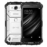 DOOGEE S60 Smartphone 6GB + 64GB IP68 impermeable a prueba de polvo 5580 mAh sensor de huellas digitales de la batería 5.2 '' Android 7.0 con red 4G, NFC, OTA, QI