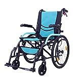 Wheelchair Fauteuils Roulants Autopropulsés Léger-Pliable Et Facile À Transporter Double Frein À Main À Double Contrôle Personnes Âgées...