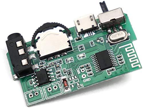 Electronicspices Bluetooth Amplifier Circuit Wireless HI-FI Module for DIY Mini Boom Box 5 W (Multicolour)