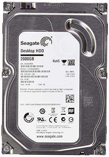 Seagate Desktop HDD ST2000DM001 - hard disk - 2 TB - SATA 6Gb/s
