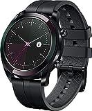 Huawei Watch GT Elegant Montre Connectée (GPS, boîtier 42mm) avec Bracelet Noir