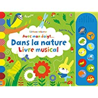 Avec mon doigt... Dans la nature - Livre musical